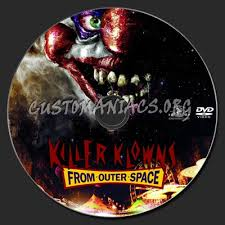 Killer Klowns Outer Space Halloween Costumes Killer Klowns Outer Space 1988 Dvd Label Dvd Covers