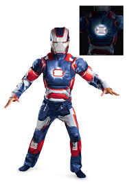 Light Halloween Costumes Iron Man Costumes Child Iron Man Movie Costume