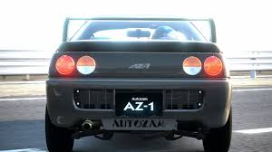 autozam az 1 gran turismo car review mazda autozam az 1
