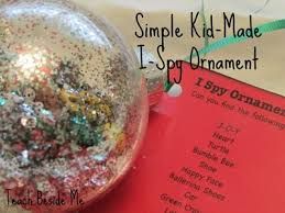 handmade ornaments and geoboard preschool and