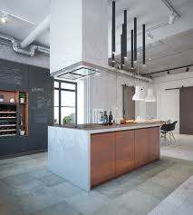 industrial style kitchen islands industrial house design and decor for stylish appearance roohome