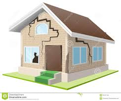 earthquake clipart house pencil and in color earthquake clipart