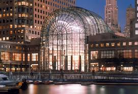 winter garden at the world financial center