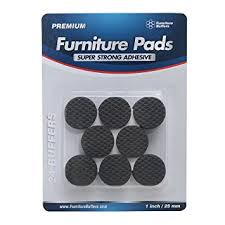 lightweight reduced slip non slip furniture pads protect
