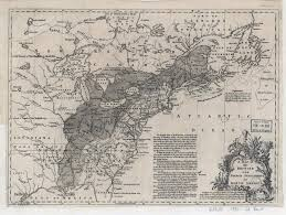 North Western United States Map by 1755 To 1759 Pennsylvania Maps