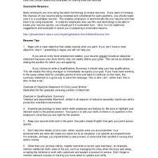summary resume exles sle of qualifications summary on a resume fresh summary
