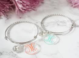 monogrammed bracelets monogrammed bracelets victorianeedleworks