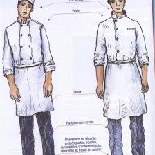 tenue de cuisine pas cher tenue cuisine