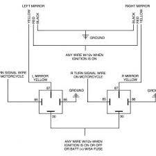 wiring diagram wiring diagrams for turn signal diagram led