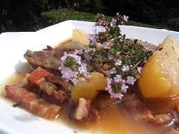 cuisiner joues de porc recette de joues de porc confites au cidre