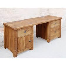 southampton double pedestal computer desk intended for modern