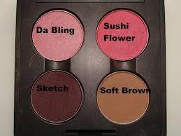macup look pretty in pink palette by mac indian makeup blog