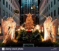christmas tree angels rockefeller center raymond hood 1939