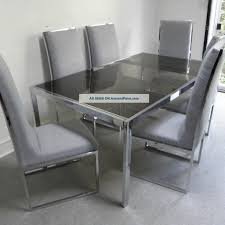 simple grey dining room chairs with grey dining chairs ebay