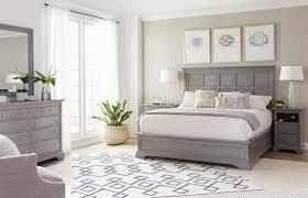 Stanley Furniture Bedroom Set by Furniture Transitional Panel Bedroom Set In Estonian Grey