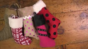 how to make oversized christmas stockings how tos diy