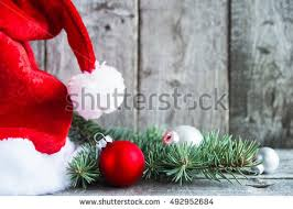 silver christmas santa claus hat silver christmas stock photo 524991400