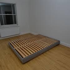 Beech Bed Frame Hempel Low King 6ft Custom Upholstered Bed Frame 200