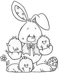easter bunny coloring page 19 coloring pages pinterest