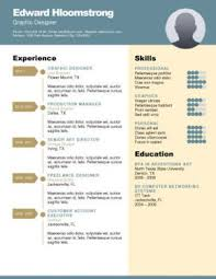 Free Resume Templates For Word by Free Resume Templates Word Cool Resume Templates Free Word Free