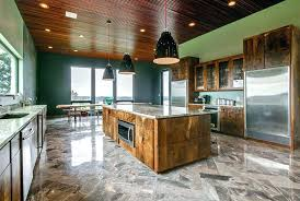 Kitchen Island Made From Reclaimed Wood Kitchen Island Made From Reclaimed Wood Modern Kitchen With
