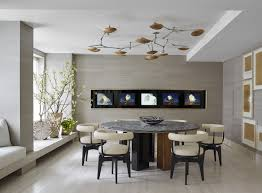 impressive modern dining room with additional interior design for