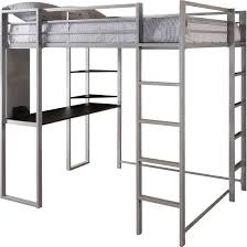 Bunk Bed Computer Desk Dorel Dhp Metal Loft Bed Workstation Desk