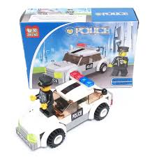 minecraft police car lego party supplies police car vehicle brick sets favors
