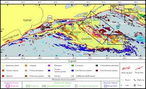 Tibetan Plateau Map Cenozoic Multiple Phase Tectonic Evolution Of The Northern Tibetan