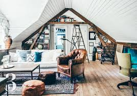 Attic Space Design by Laurel Loves 7 Converted Attic Spaces