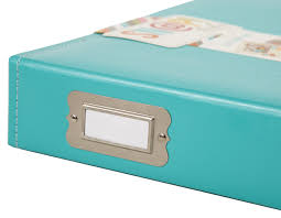 6x8 album 6x8 sn p faux leather album teal simple stories
