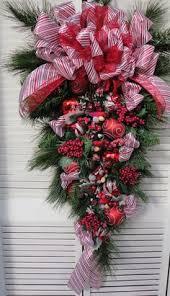 big front doors teardrop wreath wreath door wreath