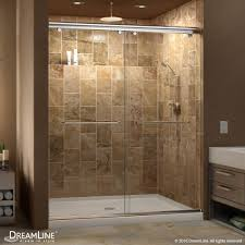 34 Shower Door Dreamline Charisma Frameless Bypass Sliding Shower Door And