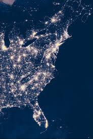 Light Pollution Map Usa by Night Moves Vqr Online