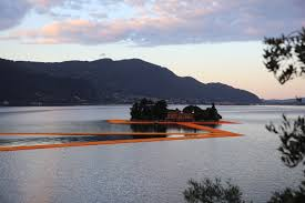 Floating Piers by Gallery Of The Floating Piers Opens On Lake Iseo Allowing Visitors