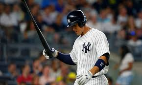 Aaron Judge Gary Sanchez Struggle In Game 1 Loss To Indians Newsday - pennant race doesn t preclude young yankees from struggling cbs