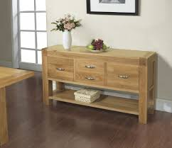 Solid Oak Buffet by Furniture Magnificent Ikea Table With Drawer For Home Interior