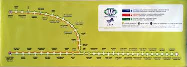Athens Metro Map by Athens Greece Train Rail Maps