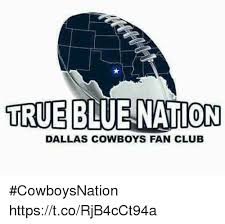 dallas cowboys fan club true blue nation dallas cowboys fan club cowboysnation