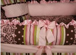 Pink And Brown Damask Crib Bedding 23 Best Babies Room Ideas Green Pink Brown With Bunnies