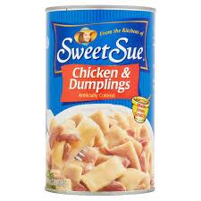sweet sue chicken u0026 dumplings 48 oz walmart com