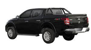 mitsubishi pickup 2016 evo600b upstone black aluminum tonneau cover mitsubishi l200
