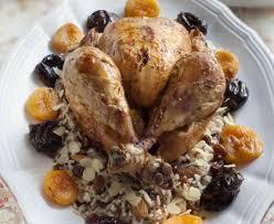 comment cuisiner une poularde poularde rôtie aux fruits d hiver recette de poularde rôtie aux