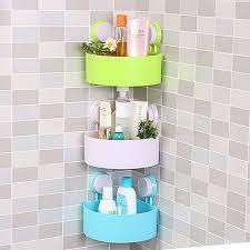 Bathroom Shower Storage Bathroom Shower Storage Plastic Shelf Caddy Shoo Holder Rack