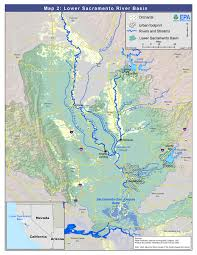 California Arizona Map by Feather U0026 Sacramento Rivers Watersheds Region 9 Water Us Epa