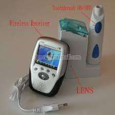 Bathroom Spy Cam by Toothbrush Spy Camera With Wirless Toothbrush Camera Spy Bathroom