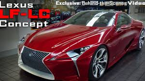 lexus lf lc engine designing the lexus lf lc concept car u2013behind the scenes exclusive