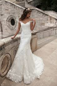 robe de mari e simple dentelle robe de mariée sirène col en cœur traîne moyenne dentelle