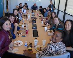 the outsource family celebrates thanksgiving together telecom