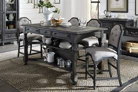 dining room table counter height dining room furniture mor furniture for less